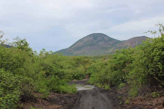 Leon, Nicaragua: View from the base of the volcano