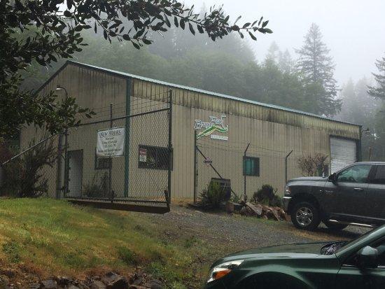 Brookings, OR: Brandy Peak Distillery