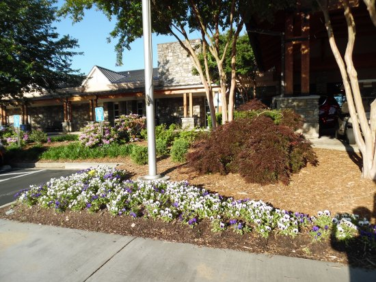 Crowne Plaza  Resort Asheville: A little tricky to find, but very quiet, just short drive from everything.