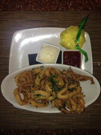 Sandy, UT: Calamari: Buttermilk Battered Fried Calamari Warm Marinara, Garlic Aioli