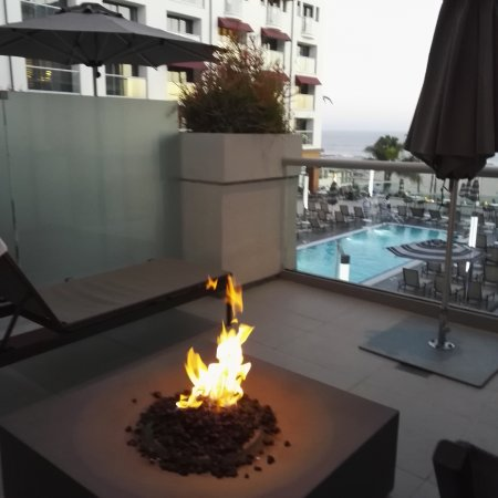 Loews Santa Monica Beach Hotel: наш балкон