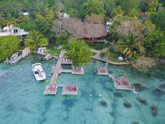 Foto de los aluxes bacalar hotel bacalar for Hotel luxury en bacalar