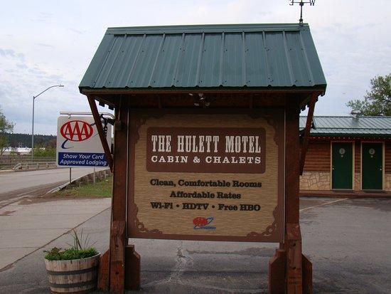 The Hulett Hotel Sign