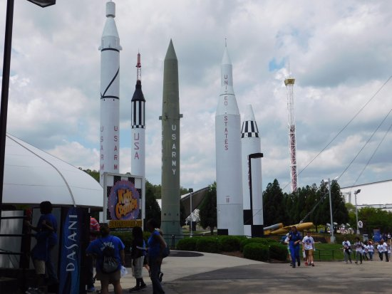 U.S. Space and Rocket Center: Rockets at the Space & Rocket Center