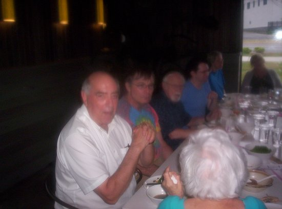 Chamblee, GA: Friends enjoying their food