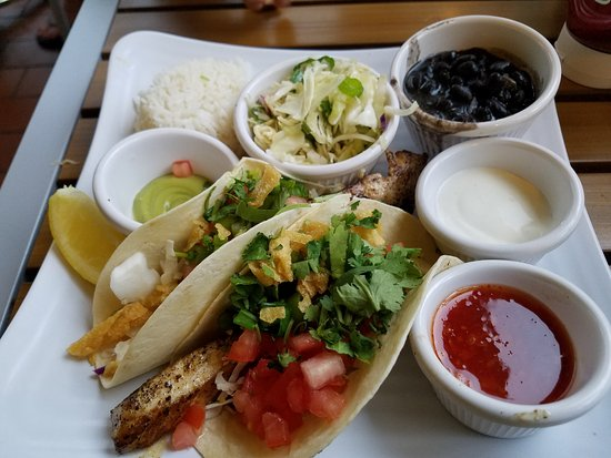 Sunshine Grill: Mahi Fish Tacos