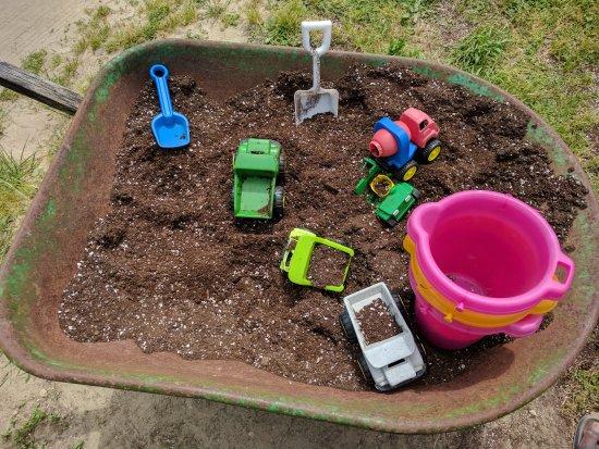 Γουόλντορφ, Μέριλαντ: kids play area outside greenhouse