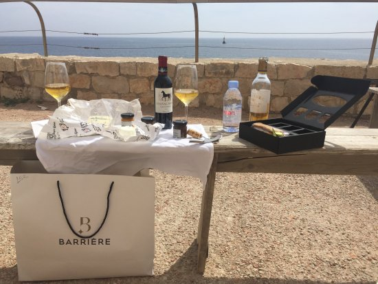 Hotel Barriere Le Majestic Cannes: Five Star Picnic