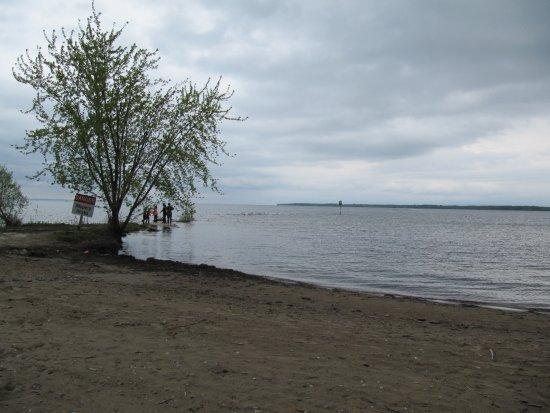 Georgina, Kanada: A view of the beach
