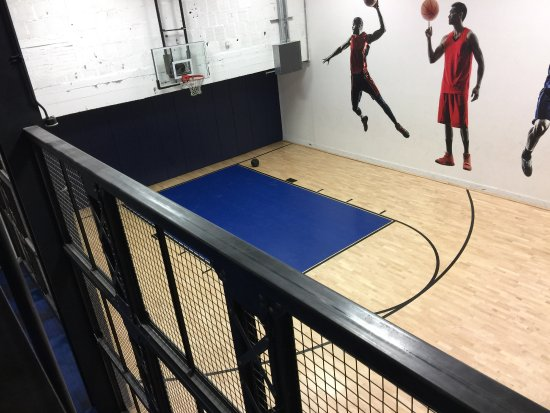 Basketball Court Picture Of Kimpton Cardinal Hotel Winston Salem Tripadvisor