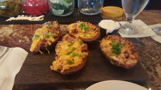 Needham, MA: Loaded Potatoes yuuuummm!!