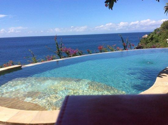 Blue Moon Villas: View