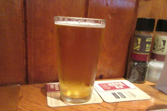 Beer, Outback Steakhouse, Milpitas, CA