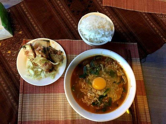 Don Det, Laos: 라밥(라면김치밥) 맛잇어요ㅋ