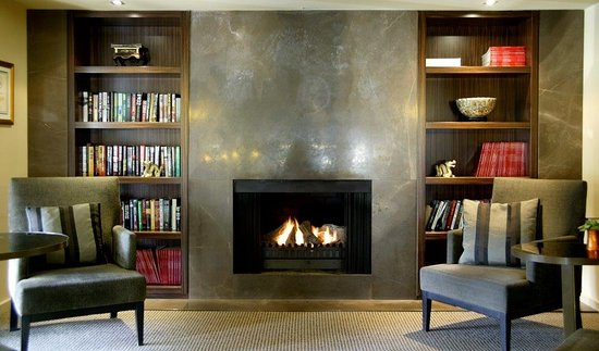 Lyall Hotel and Spa: Library
