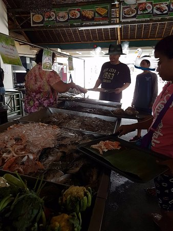Caloocan, Philippines: choose them un-cooked first...