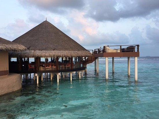 Maafushi Island: Over-the-water lounge