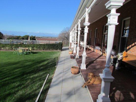 Ugbrooke Country Estate: Side view from back veranda