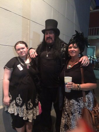 Lord Chaz Tours: Me and my daughter with Lord Chaz