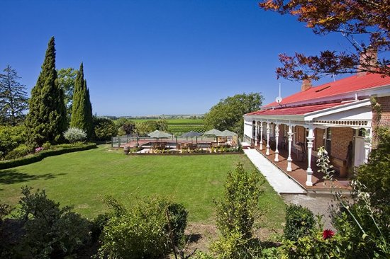 Ugbrooke Country Estate: View from top garden