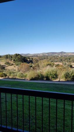 Rowland Flat, Australia: view fron balcony