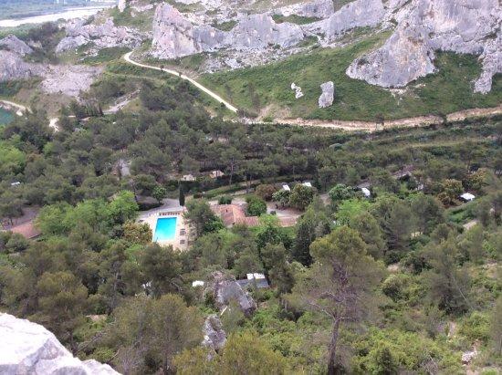 Orgon, Prancis: Gedeelte van de camping