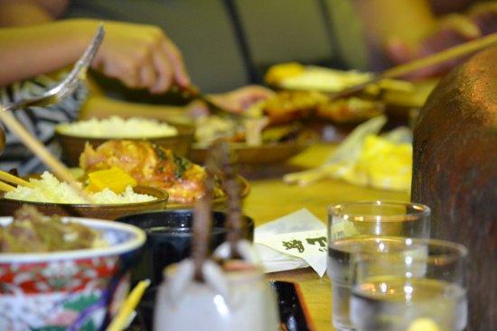 Irori Sanzoku: Gyudon, teriyaki chicken, & rice!