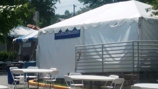 Saint Sophia Cathedral Vendor tent & Vendor tent - Picture of Saint Sophia Cathedral Washington DC ...