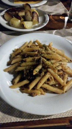 penne alla chiantigiana - Picture of Trattoria La Gargotta, Bagno a ...