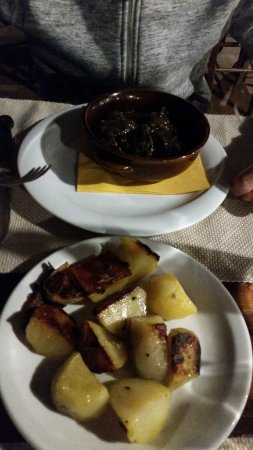 Баньо-Риполи, Италия: peposo con patate
