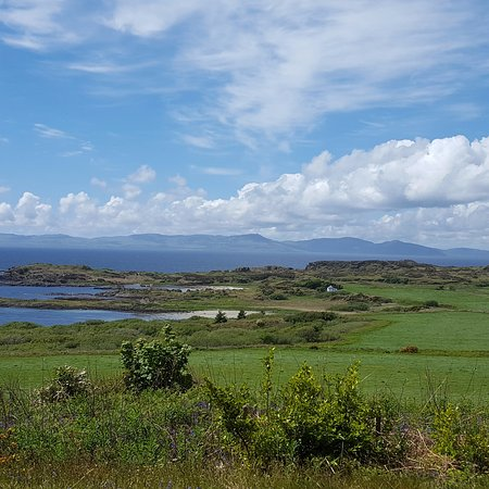Isle of Gigha, UK: A short walk from the hotel is - possibly - one of the best views in the world!