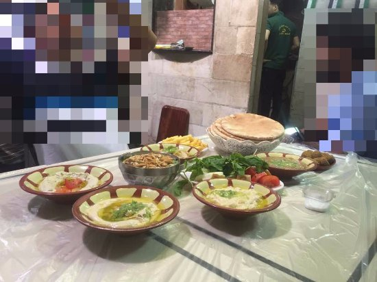 Hashem : Table spread