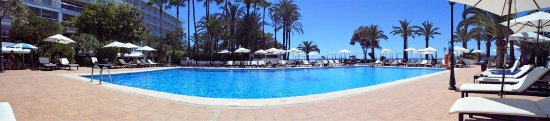 THB Los Molinos: Great chilled out pool area