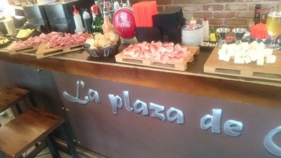 Origgio, Italia: buffet
