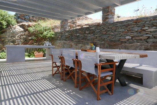 Kea, اليونان: Dining Terrace