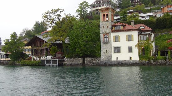 Thun, Switzerland: you will c more picturesque sites on the way.