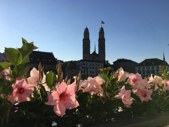 Storchen Zurich: Hotel Patio - 2nd Floor