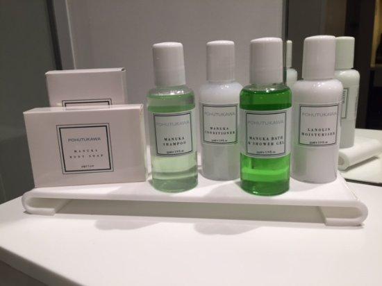 Queenstown Park Boutique Hotel: Bathroom amenities