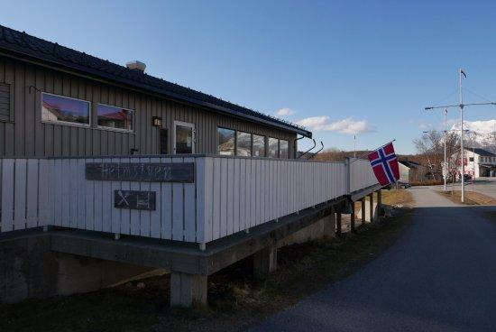 Bodo, النرويج: Utsiden av hotellet og restauranten
