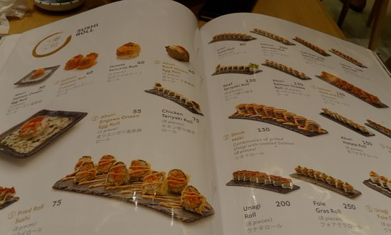 Menu Book Picture Of Sushi Hiro Jakarta Tripadvisor Sushi yang kita makan, yang memakai paket maupun satuan, biasanya dibanderol dengan harga cukup mahal. sushi hiro jakarta tripadvisor