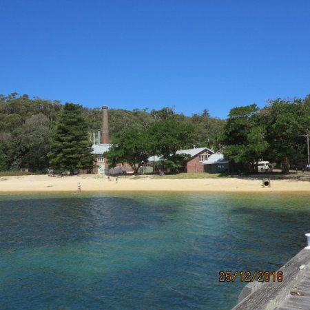 Manly Quarantine Station: The beach - from the jetty