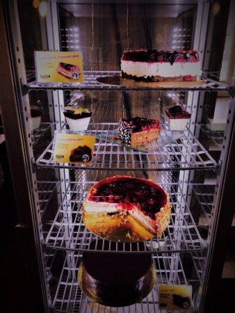 Opava, República Checa: Nabídka dortů.