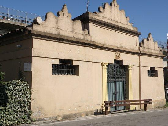 Ipogeo dei Volumni e Necropoli del Palazzone: INGRESSO IPOGEO