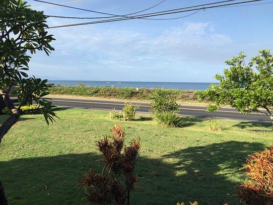 Nona Lani Cottages : vue depuis le cottage