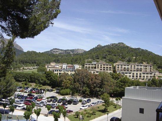 Grupotel Playa Camp de Mar: view from my single room