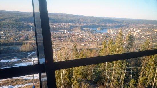 Sollefteå, Szwecja: Utsikten är svårslagen