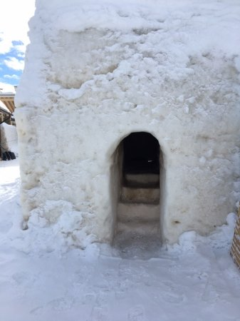 Arctic SnowHotel & Glass Igloos: The stone sauna