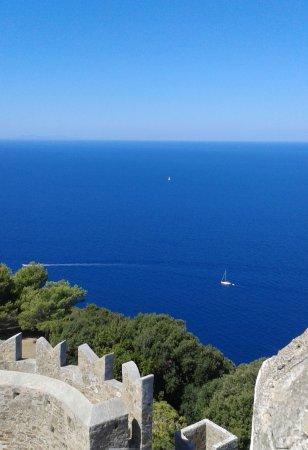 Populonia, Italy: il mare visto dalla torre