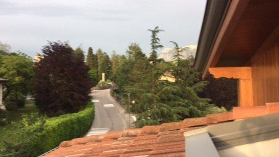 Alla Loggia dell'Imperatore: vista dal terrazzo