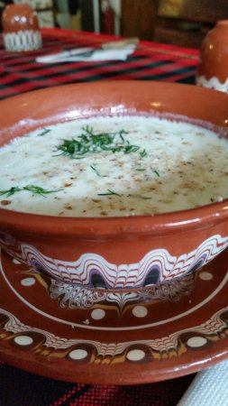 "Shiroka Laka, Bulgaria: Yogurt soup at ""Kalina"" tavern"